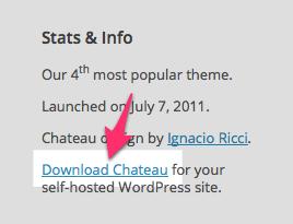 Chateau Theme — WordPress Themes for Blogs at WordPress.com