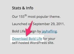 Bold Life Theme — WordPress Themes for Blogs at WordPress.com