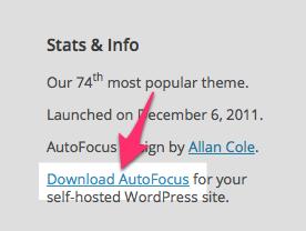 AutoFocus Theme — WordPress Themes for Blogs at WordPress.com