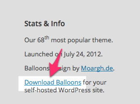 Balloons Theme — WordPress Themes for Blogs at WordPress.com