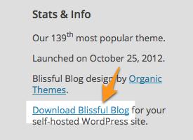 Blissful Blog Theme — WordPress Themes for Blogs at WordPress.com
