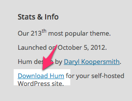 Hum Theme — WordPress Themes for Blogs at WordPress.com