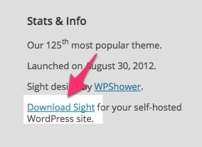 Sight Theme — WordPress Themes for Blogs at WordPress.com