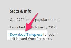 Timepiece Theme — WordPress Themes for Blogs at WordPress.com