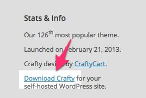 Crafty Theme — WordPress Themes for Blogs at WordPress.com