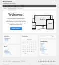 Responsive | A versatile theme with a responsive layout