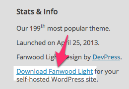 Fanwood Light Theme — WordPress Themes for Blogs at WordPress.com