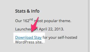 Stay Theme — WordPress Themes for Blogs at WordPress.com