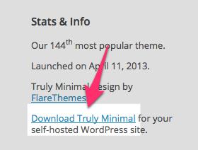 Truly Minimal Theme — WordPress Themes for Blogs at WordPress.com