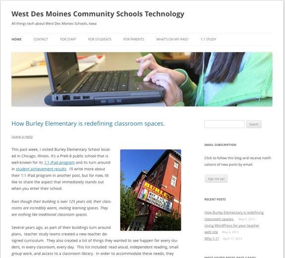 West Des Moines Community Schools Technology | All things tech about West Des Moines Schools, Iowa