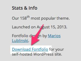 Fontfolio Theme — WordPress Themes for Blogs at WordPress.com