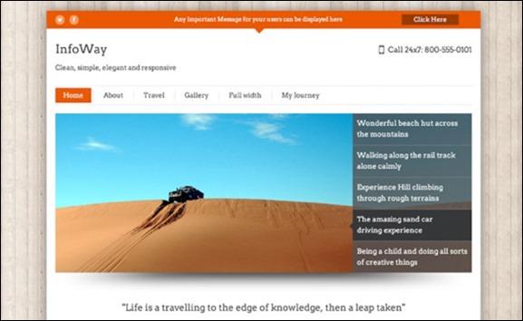 New Themes_ Traveler andInfoWay — Blog — WordPress.com