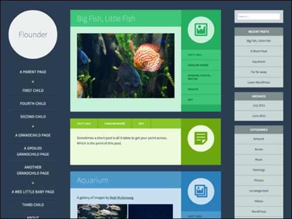 Flounder Theme — WordPress Themes for Blogs at WordPress.com