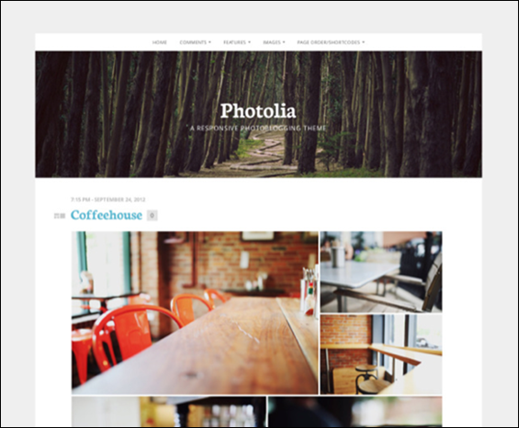 Photolia Theme — WordPress Themes for Blogs at WordPress.com