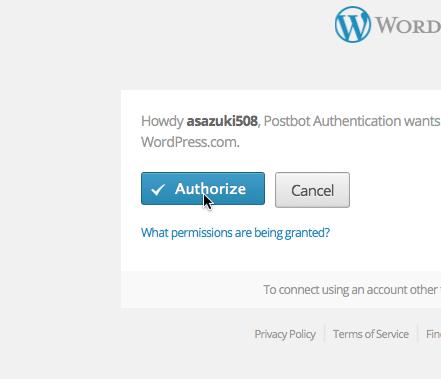 Authorize Postbot Authentication