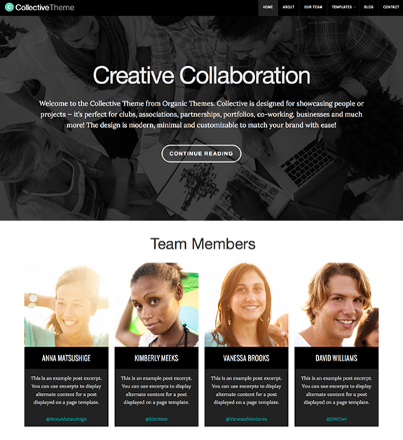 Collective Theme — WordPress Themes for Blogs at WordPress.com