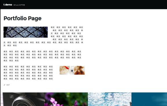 Espied のカスタマイズ — WordPress-3