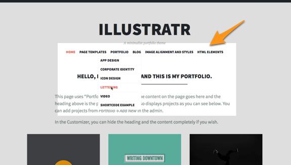 Illustratr | A minimalist portfolio theme-2