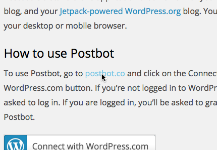 Schedule Photos to Post Automatically withPostbot — Blog — WordPress.com