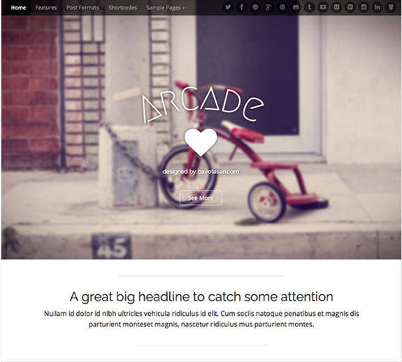 Arcade Theme — WordPress Themes for Blogs at WordPress.com