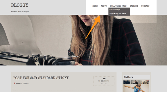 Bloggy | WordPress Theme for Bloggers