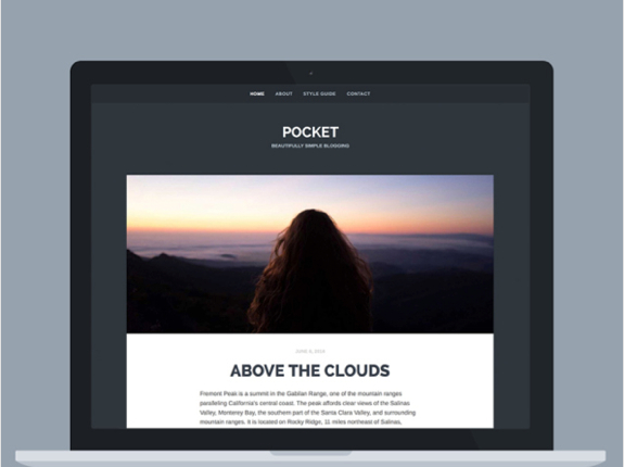 Pocket Theme — WordPress Themes for Blogs at WordPress.com