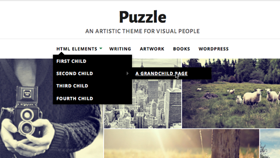Puzzle | An Artistic theme for visual people-1
