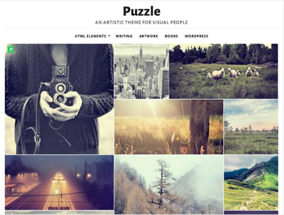 Puzzle Theme — WordPress Themes for Blogs at WordPress.com