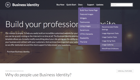 Business Identity | Showcase your business, connect with your customers, and make a strong and professional impact on the web with Business Identity