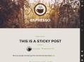 Espresso Theme — WordPress Themes for Blogs at WordPress.com