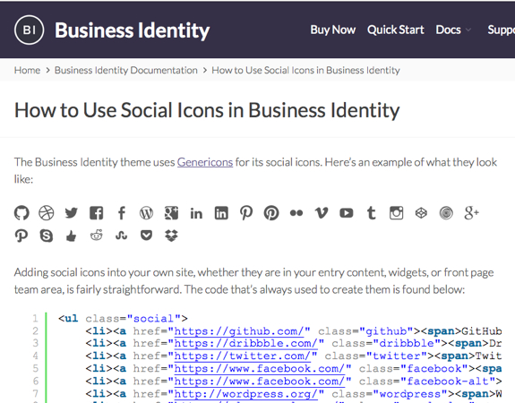 How to Use Social Icons in Business Identity | Business Identity
