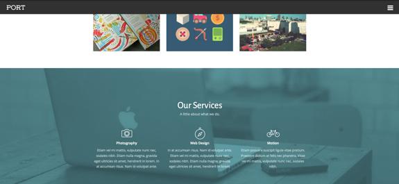 Port | A Sleek and Sylish Agency Theme-2