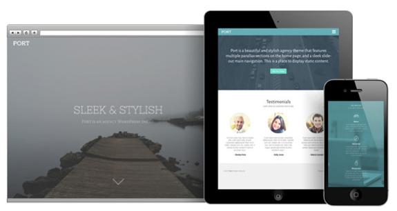 Port Theme — WordPress Themes for Blogs at WordPress.com