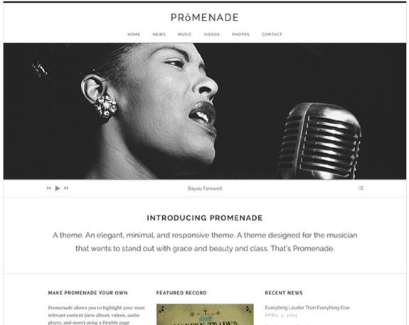 Promenade Theme — WordPress Themes for Blogs at WordPress.com