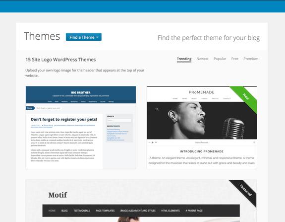 Site Logo WordPress Themes at WordPress.com