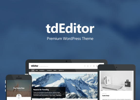 tdEditor Theme — WordPress Themes for Blogs at WordPress.com
