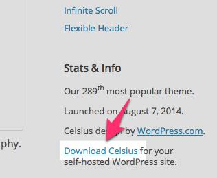 Celsius Theme — WordPress Themes for Blogs at WordPress.com