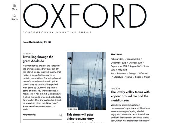 December | 2013 | Oxford
