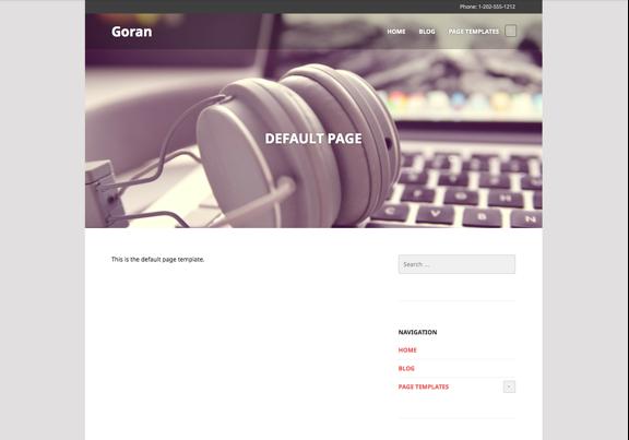 Default Page | Goran