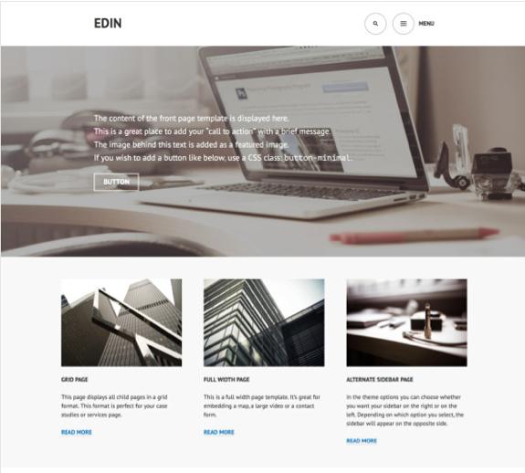 Edin Theme — WordPress Themes for Blogs at WordPress.com