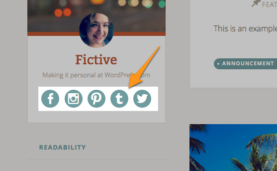Fictive | Making it personal at WordPress.com