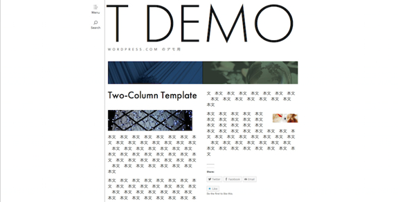 Two-Column Template