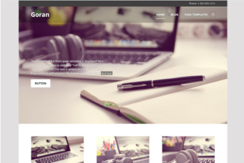 Goran Theme — WordPress Themes for Blogs at WordPress.com