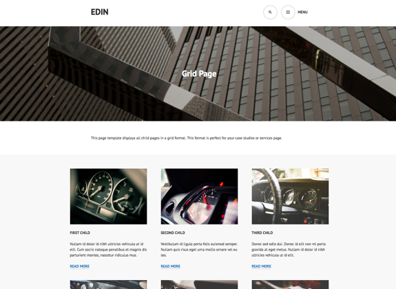 Grid Page | Edin