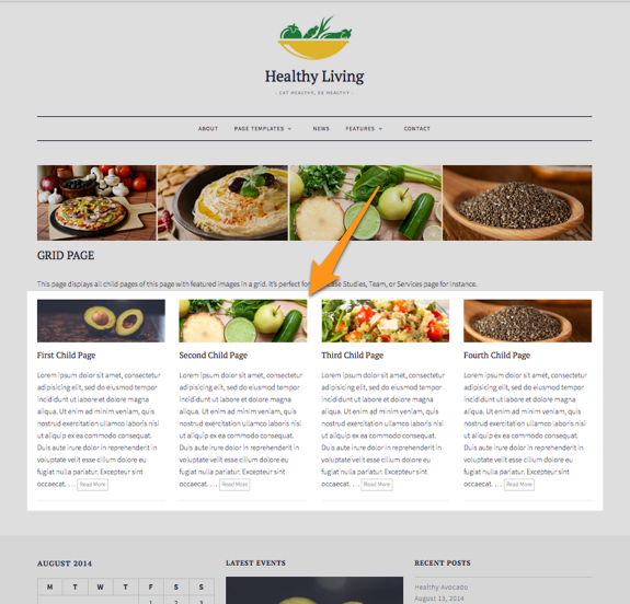 Grid Page | Healthy Living-1