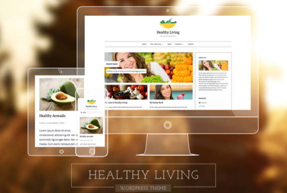 Healthy Living Theme — WordPress Themes for Blogs at WordPress.com
