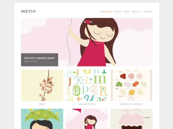 Sketch Theme — WordPress Themes for Blogs at WordPress.com
