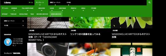 t demo | WordPress.com のデモ用-9