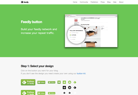 feedly. your news. delivered.