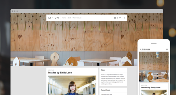 Atrium Theme — WordPress Themes for Blogs at WordPress.com